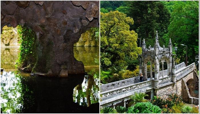 Из «неправильных» выходов можно попасть или к озерам, или на эффектные мостики (Quinta da Regaleira, Синтра).