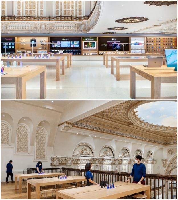 Преображенный для новой эры театр Apple Tower станет домом творчества и инноваций, где каждому клиенту уделят должное внимание (Лос-Анджелес, США).