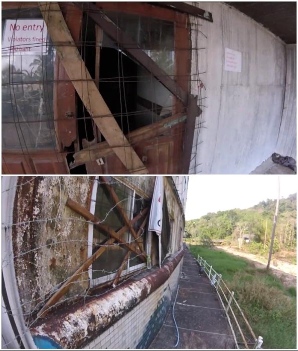 Попасть внутрь корабля-отеля точно не получится (Grand Lagoona Koh Chang Resort, Таиланд).