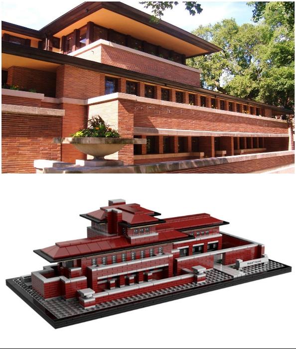 «Дом Роби» тоже есть в арсенале Lego.