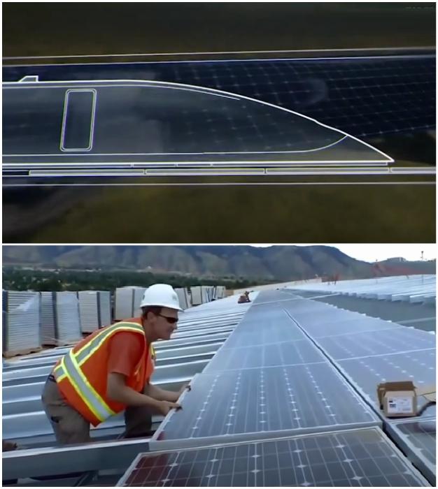 Энергетическое обслуживания всех объектов инновационной транспортной системы HyperloopTT будет осуществляться за счет преобразования солнечной энергии.