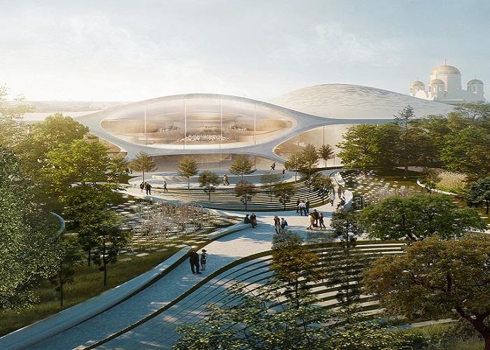 Победил проект британского бюро Zaha Hadid Architects (Филармония в Екатеринбурге).