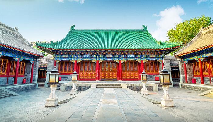 Традиционный особняк богатого китайца в период царствования династии Чжоу. | Фото: kuaibao.qq.com.