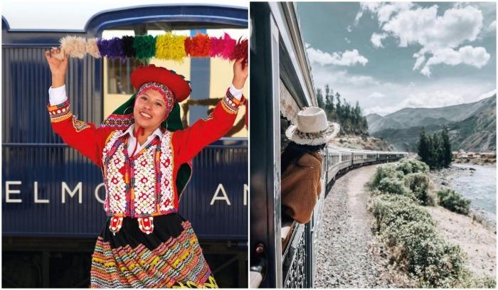 Гостей туристического состава ждет незабываемое путешествие (Belmond Andean Explorer, Перу).