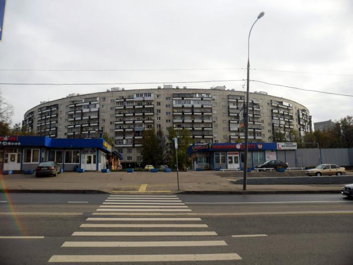 Дом-близнец расположен по улице Довженко.