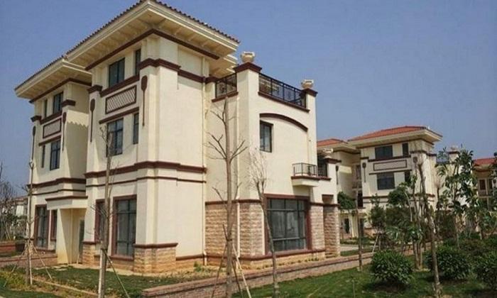 Трехэтажный особняк с приусадебным участком должна была получить каждая семья (Китай).