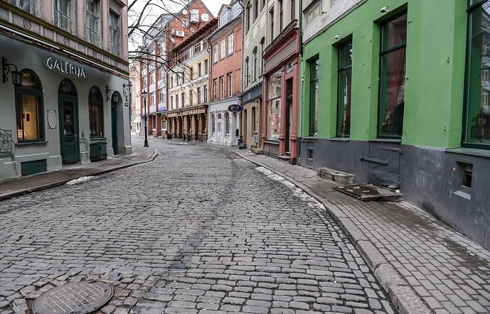 На этой улице закончил свою жизнь профессор Плейшнер (к/ф «Семнадцать мгновений весны», улица Яуниела, Рига). | Фото: i-korotchenko.livejournal.com.
