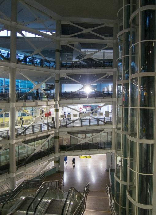 Панорамные лифты ведут на смотровую площадку (Самара).
