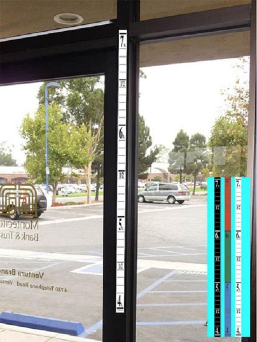 В 1970-х г. Институт западных поведенческих наук совместно с полицией предложили использовать линейки для измерения роста, чтобы снизить уровень грабежей. | Фото: reddit.com.