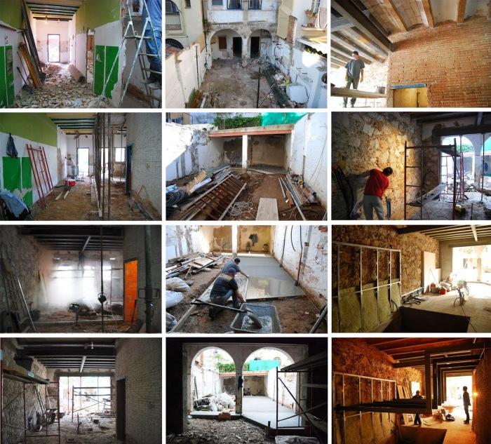 Чтобы создать эксклюзивное жилое пространство, пришлось полностью реорганизовать старое помещение (Испания). | Фото: arquitecturazonacero.blogspot.com.