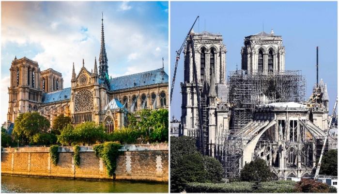 Два года спустя: как возвращают к жизни Собора Парижской Богоматери