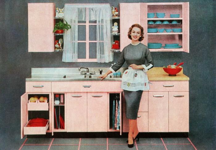 Розовая мечта миллионов американских женщин постоянно мелькала в журналах и на TV. | Фото: pic-words.ru.