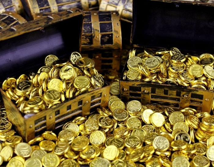 Монеты в доме притягивают богатство и благосостояние.