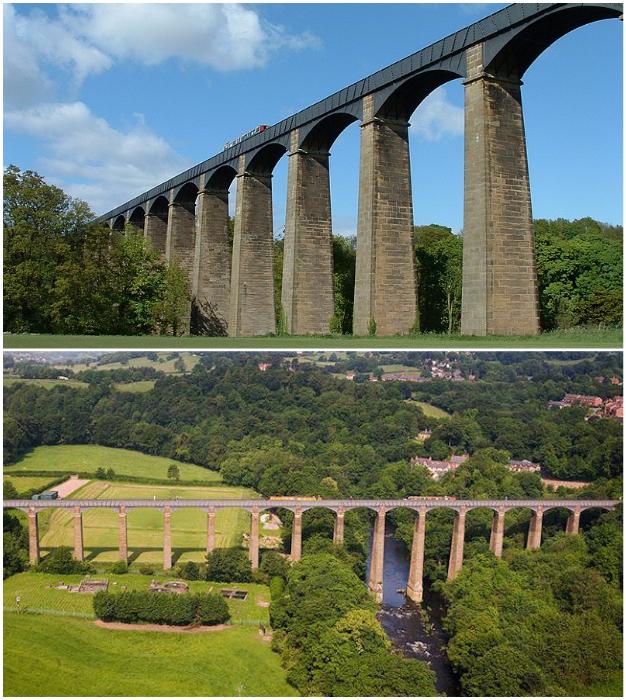 Акведук Понткисиллте является объектом Всемирного наследия ЮНЕСКО (Великобритания).