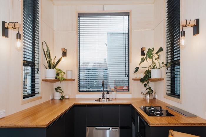 Современная кухня позволит приготовить свои любимые блюда, не покидая мини-апартаменты (Autumn, Новая Зеландия). | Фото: marseillenews.net.