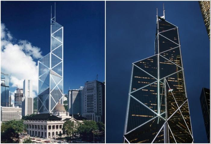 Bank of China Tower – самое узнаваемое здание на горизонте Гонконга.