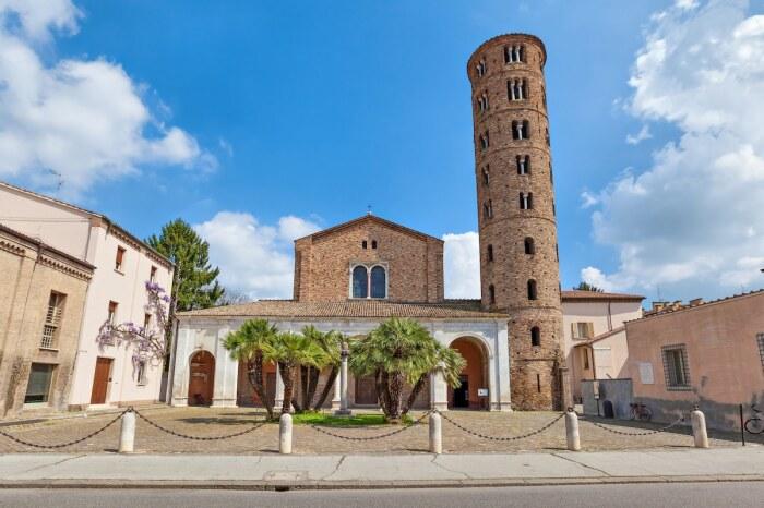 The Basilica of Sant'Apollinare Nuovo в 1996 г. внесли в Список Всемирного наследия ЮНЕСКО (Равена, Италия). | Фото: orthodoxographia.com.
