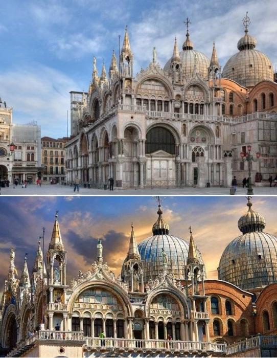 Базилика Святого Марка – главный собор Венеции, который многие века был центром государственной, общественной и религиозной жизни республики (Италия).