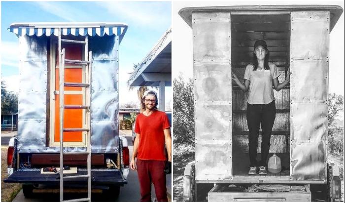 Художник-иллюстратор Тайлер Вентцель вместе со своей супругой решили построить кемпер своими руками.