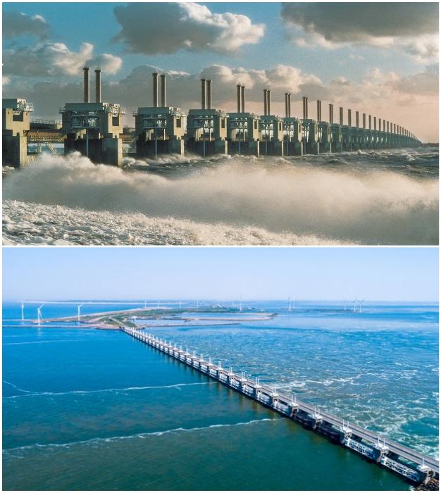 Delta Works – невиданное инженерное чудо (Нидерланды).