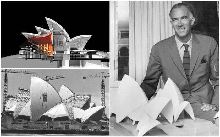 Проект, предложенный Jorn Utzon, был самым оригинальным, ярким и впечатляющим.