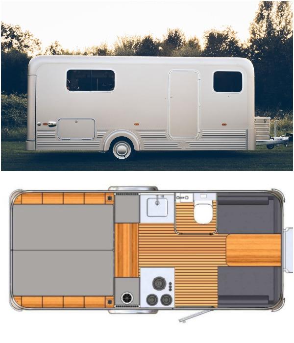 В Нидерландах построили автодом, который позволяет наслаждаться путешествиями 365 дней в году (Lume Nordic-LT540).