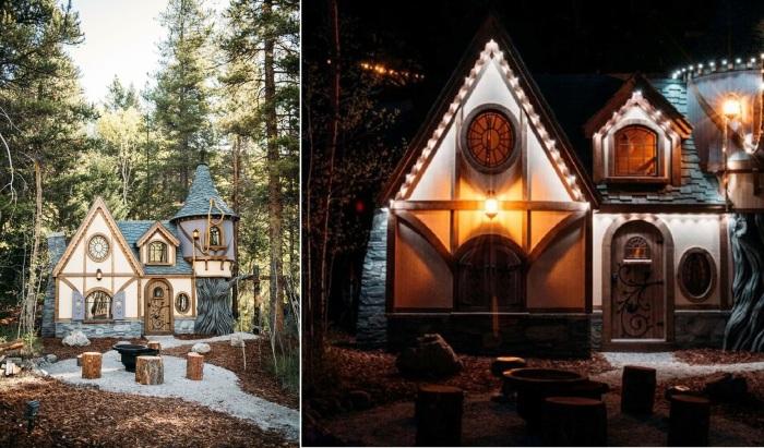 Сказочный «Коттедж Рапунцель» в отеле Charmed Family Resorts (Канада).