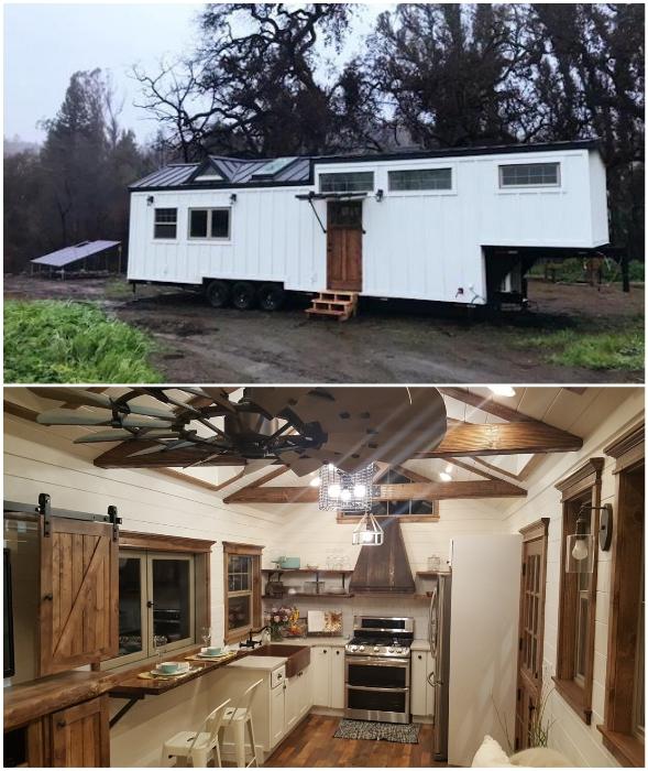 Крошечный дом «Феникс» впечатляет и размерами, и планировкой (Phoenix, США).