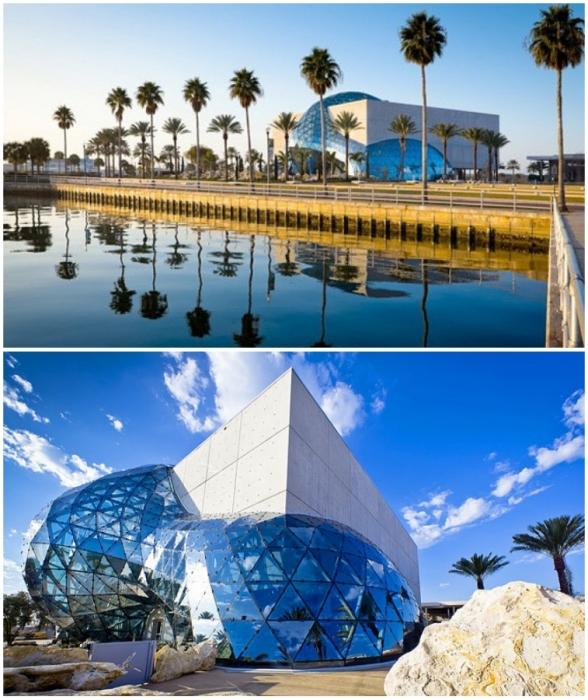Понадобилось 2 года и 30 млн дол., чтобы работы Сальвадора Дали хранились в музее достойном его творчеству (The Salvador Dali museum, Флорида).