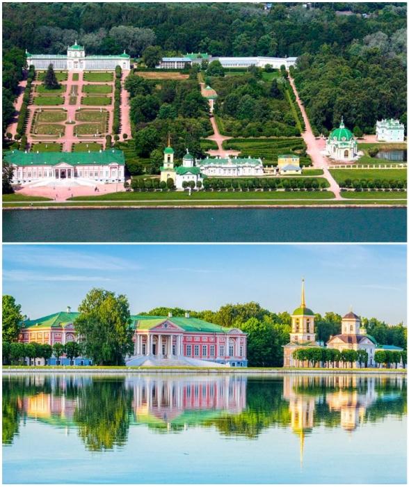Одним из самых романтических и красивых мест в Москве считается «Усадьба Кусково».