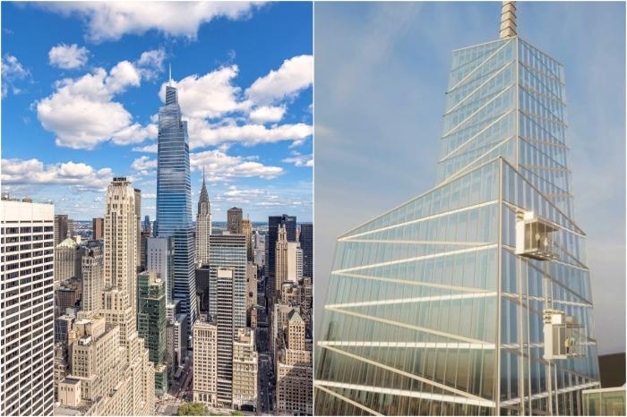 Ультрасовременный небоскреб Summit One Vanderbilt станет самым впечатляющим местом отдыха в Нью-Йорке (концепт).