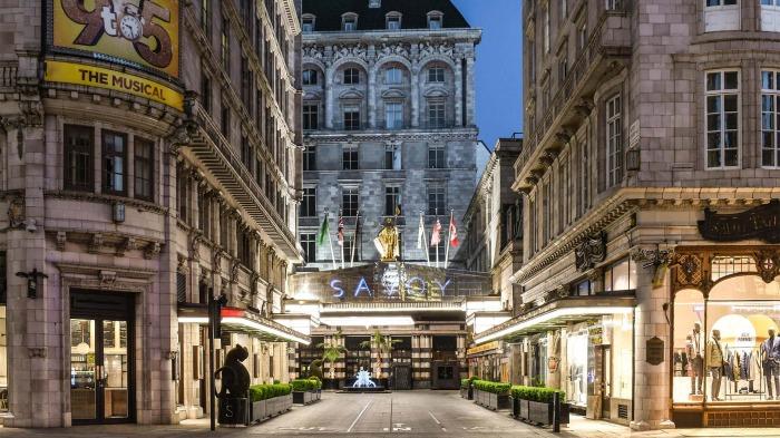 Отель The Savoy – главная достопримечательность города, которая считается иконой стиля ар-деко (Лондон, Великобритания).   Фото: thesavoylondon.com.