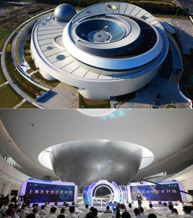 В Шанхае открылся самый большой в мире астрономический музей.