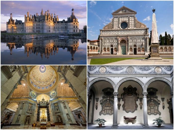 Впечатляющие шедевры эпохи Возрождения, ярко демонстрирующие особую элегантность культового стиля.