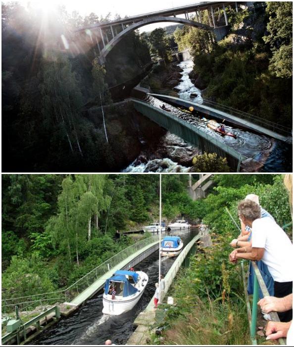 Акведук Hаverud превратился в туристическую достопримечательность (Швеция).
