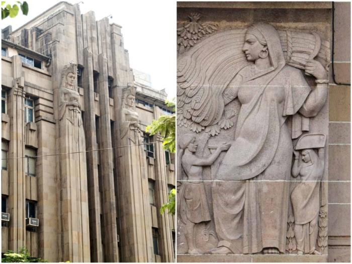 Эффектное здание страховой компании «Новая Индия» до сих пор является главным украшением деловой части Мумбаи (Индия).