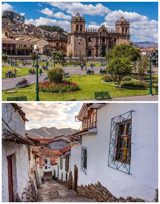 Прогулка с профессиональным гидом по первой столице Империи инков также предусмотрена (Куско, Перу).