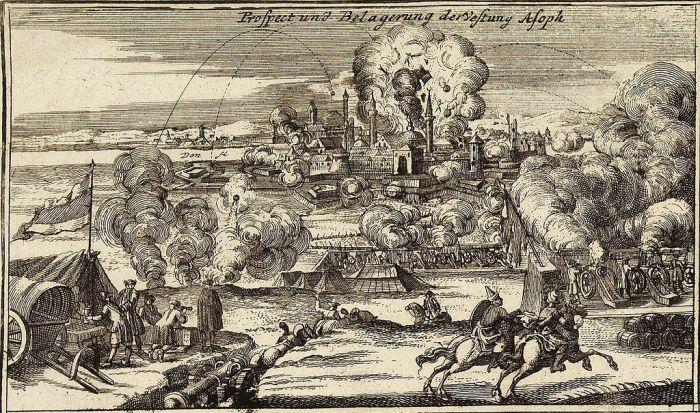 Бои вблизи Азова (1736-1737 гг., Крымско-Турецкая кампания). | Фото: wikiwand.com.