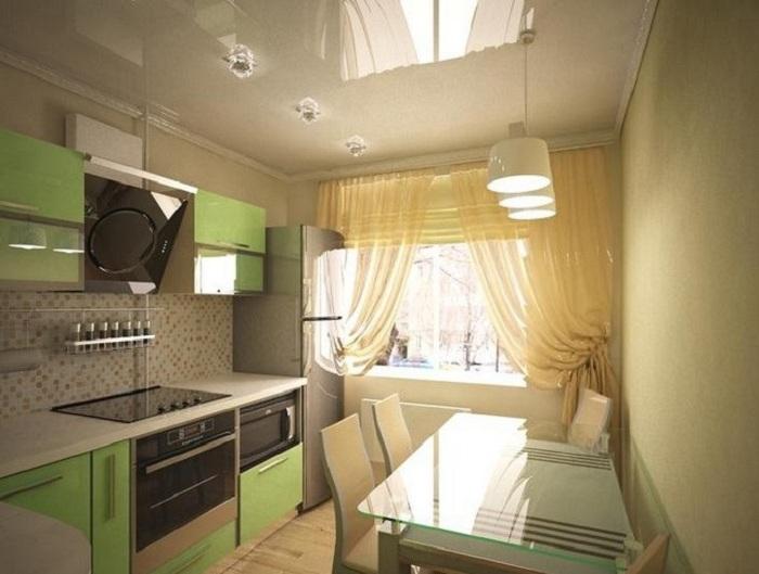 Светлая и нежная цветовая гамма выгодно подчеркнет достоинства комнаты.