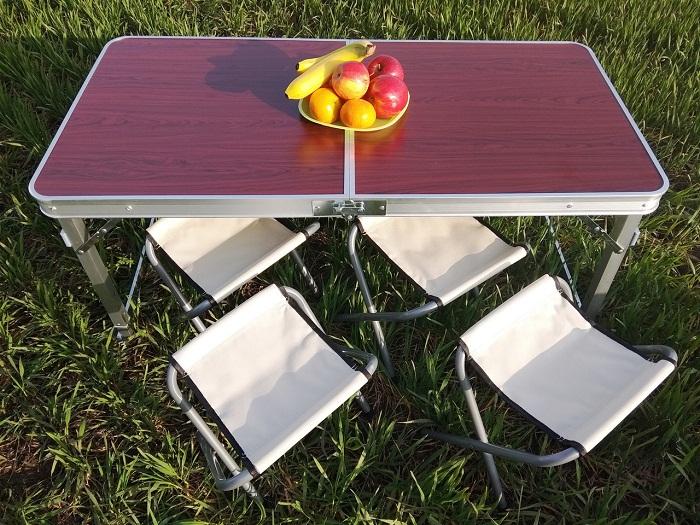 Самые простые стулья-трансформеры для пикника.