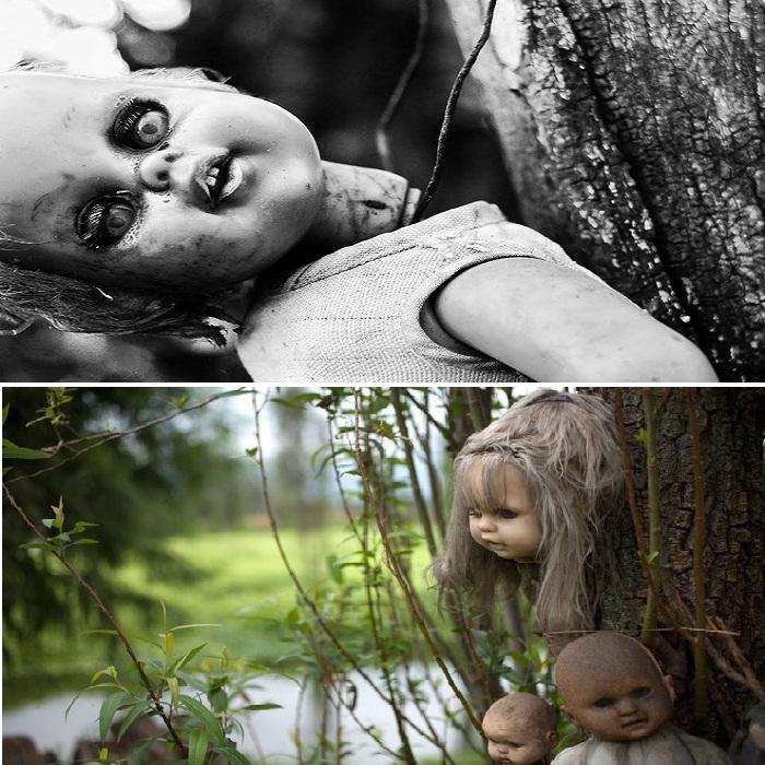 Жуткий остров кукол.