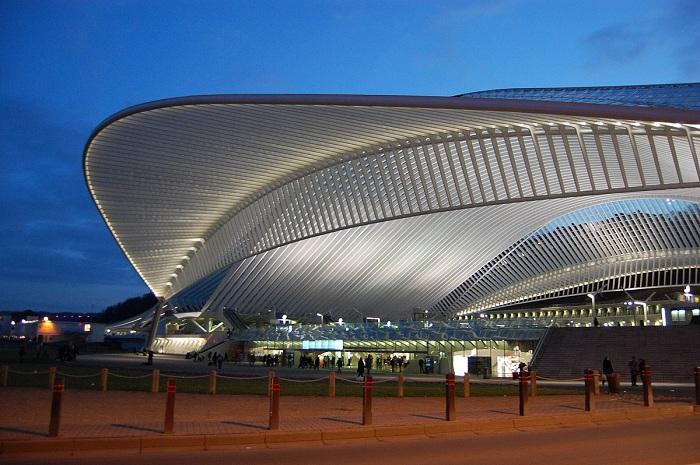 Самый восхитительный вокзал современности (Льеж, Бельгия).