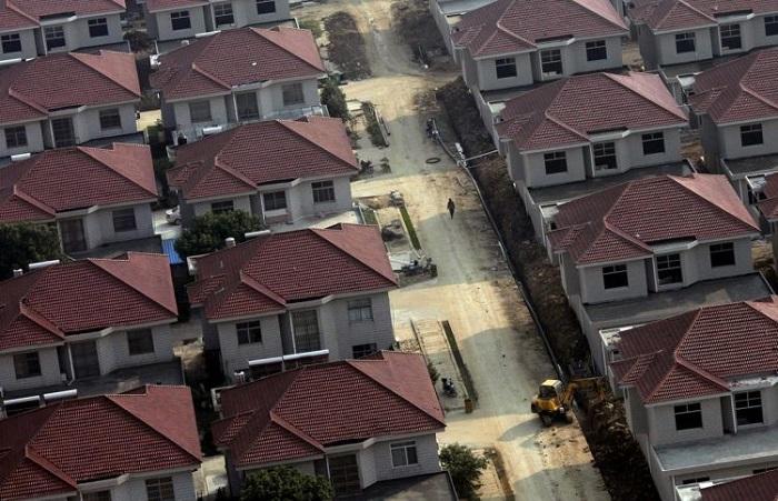 Китайские коттеджи для обеспеченных людей.
