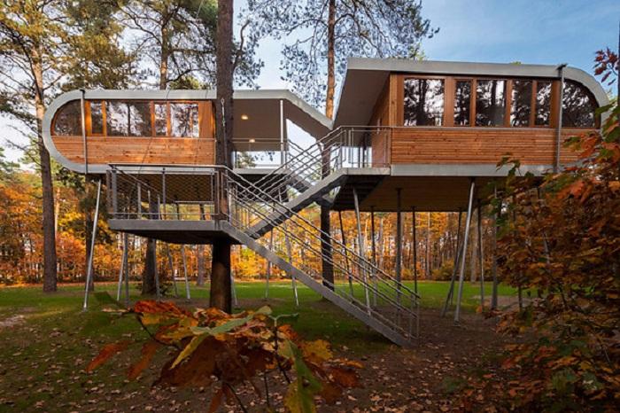 Дом-офис TREEHOUSE (Бельгия). | Фото: liveinternet.ru.