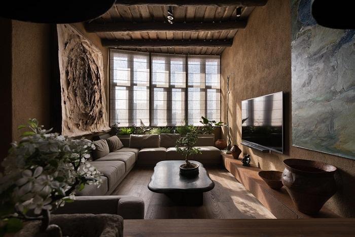 Квартира украинца Сергея Махно признана самой красивой в мире (Wabi Sabi Apartment).