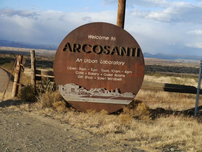 Аркосанти (Arcosanti) - футуристическая община хиппи в Аризоне до сих пор приглашает всех желающих к ним присоединиться (Аризона, США). | Фото: krabov.net.