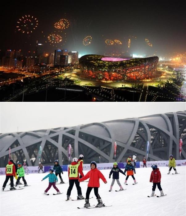 Главную спортивную арену Пекина активно эксплуатируют все годы после Олимпиады (National Stadium). | Фото: russian.news.cn.