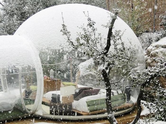 И даже зимой находятся желающие в этом отеле Attrap Reves отдохнуть.