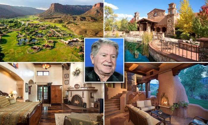 Основатель канала Discovery продает свое ранчо «West Creek» в Колорадо площадью 3,5 тыс. га за 279 млн дол. | Фото: dailymail.co.uk.