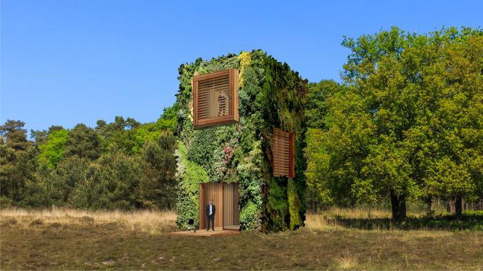«OAS1S» – проект эко-дома нового поколения (концепт фонда OAS1S ™). | Фото: thefashionglobe.com.